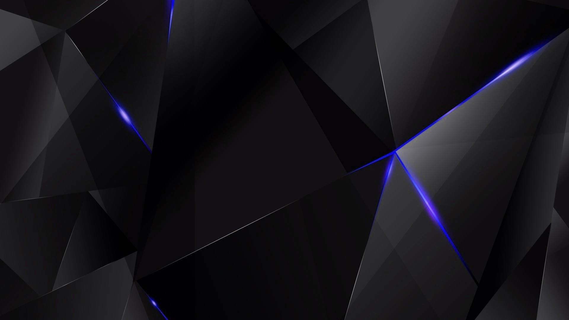 Free Cool Black Blue Shards Chrome Extension Hd Wallpaper Theme